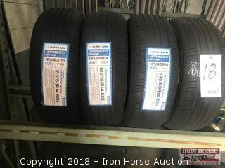 (4) New 185/60R14 Sailun Atrezzo Tires