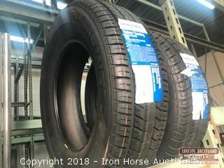 (2) New Primewell Mixed Tires