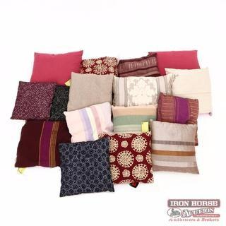 Group of Sixteen Pillows