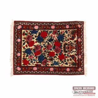 Indo Persian Area Rug (3 ft. 4 in. x 4 ft. 5 in. )