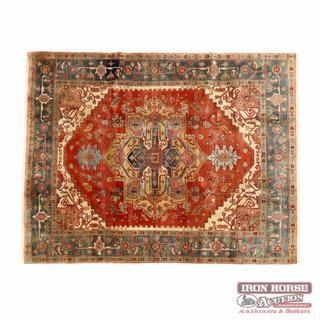 Indo Oushak Area Rug (7 ft x 10 ft 2 in. )
