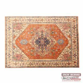 Indo Heriz Room Size Carpet (10 ft. x 13 ft. 10 in.)