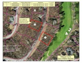 Grassy Gap Golf Course Front Lot Located at 208 Pine Ridge Road, Beech Mountain, NC