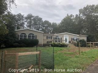 (2) Manufactured Homes On 4.34+/- Acres located at 905 & 931 Pearidge Road in Bostic, NC