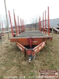 2000 Bumper Hitch 20 FT x 8 FT Trailer