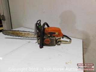 Stihl MS 261 Chain Saw  -  18 inch bar