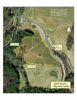 "8.5 +/- Acre Christmas Tree Lease - ""Big John Tract"", 3274 Carson Woods Rd. Laurel Springs, NC. 28644"