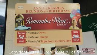 Remember When Kardlets with Rack  -  Nostalgic Greeting Cards