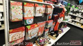 Christmas Items  -  12 FT Display
