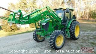 2013 6140D JD Tractor w/ H260 Front End Loader