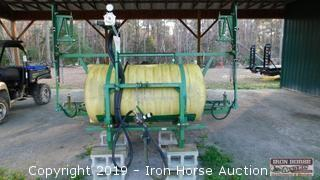 Reddick 3 Pt. Hitch Sprayer w/ 28' Boom