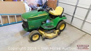 "LX 280 JD Yard Tractor w/ 48"" Mowing Deck"