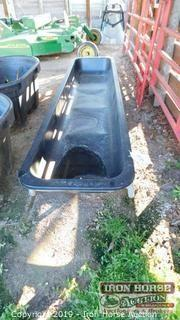 (3) Used 10' Cattle Feed Troughs
