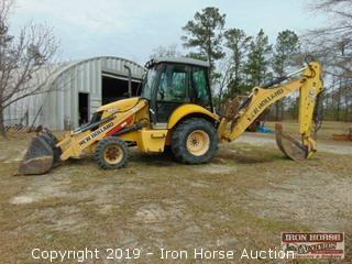 New Holland B95B Backhoe.
