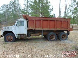 International Dump Truck.