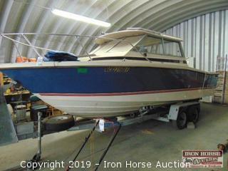 24 ft. Bayliner Boat.