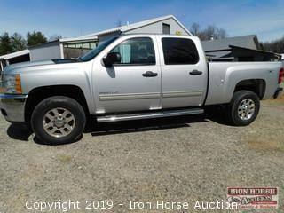 2012 Chevrolet Silverado 2500 HD Duramax Crew cab  -  VIN:  1GC1KXC8XCF143726; Duramax 6.6 Liter Turbo Diesel Engine; Allison Transmission; 127,280 miles showing