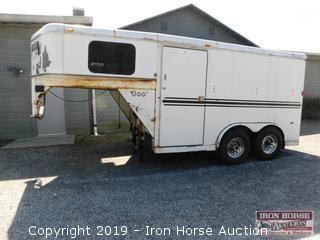 2003 Bee Gooseneck Van Trailer