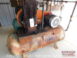 Karguard 15 HP Air Compressor  -  195 PSI max.; 3 phase Lincoln AC Motor