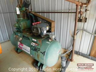 Manchester 15 HP Air Compressor  -  200 PSI max.; 3 phase Baldor AC Motor