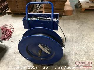 ULINE Pallet Strapping Cart and Tools