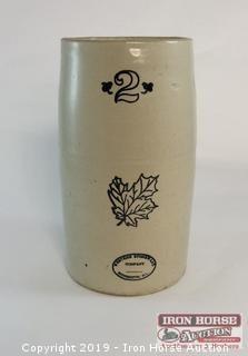 Western Stoneware 2 Gallon Crock