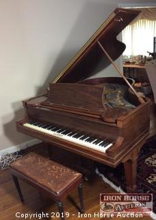 Jessie French & Sons 1875 Baby Grand Piano