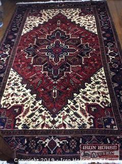 Far-Heriz Wool Rug