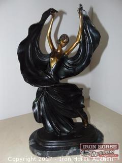 """Louis Icart, """"Fascination"""", Bronze."""