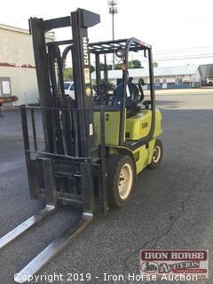 Clark Forklift (Winning Bidder can not pickup forklift until 12pm on May 24th)