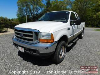 2001 Ford F250 Super Duty PowerStroke 7.3L Diesel V8 Lariat Extended Cab 4WD Pickup