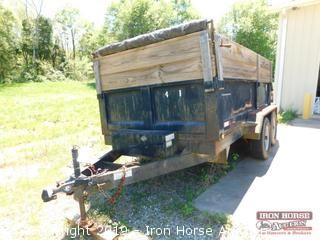 2006 Tow-Rite 6 FT x 12 FT Dump Bed Trailer