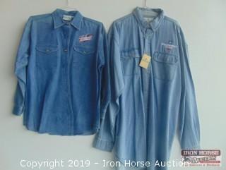(2) NASCAR Shirts