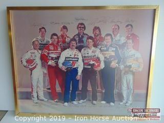 1985 Winston Drivers Framed Picture