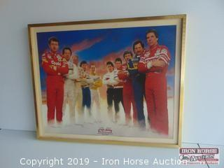 1986 Winston Drivers Framed Picture