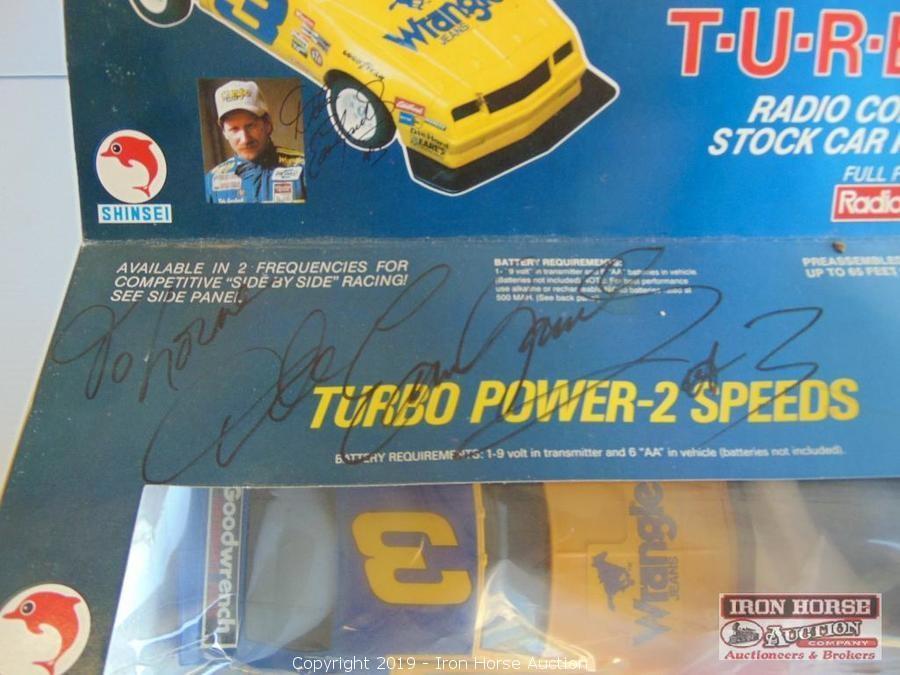 Iron Horse Auction - Auction: NASCAR Racing Memorabilia and Antiques