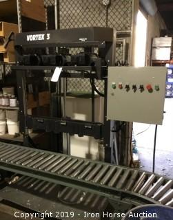 Vortex 3 Triple Headed CNC Mixer with Roller Bed System