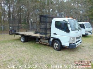 2012 Mitsubishi Fuso FE Landscape Truck