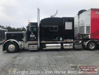 2004 Peterbilt 379X Road Tractor with 75kw Generator