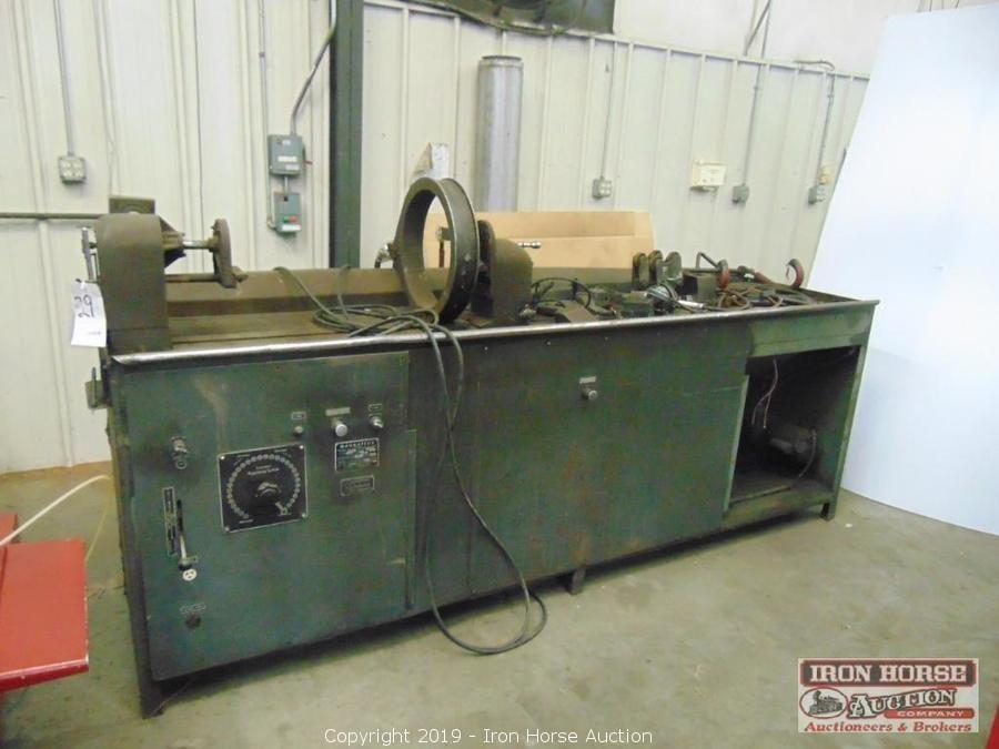 Auction of Machine Shop Equipment and Tools in Statesville, NC