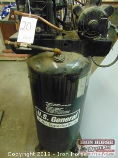 US General 60 Gallon Air Compressor
