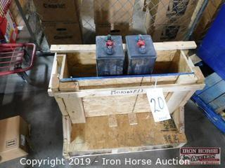 2 Electric Fork Truck Batteries