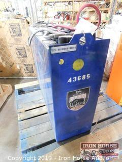 Ener Sys Iron Clad DesertHog Electric Fork Truck Battery