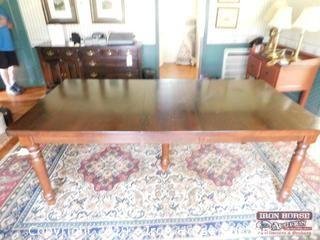 Dining Table w/ 2 Removable Leaves