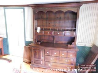 Dish Cabinet w/ Hutch