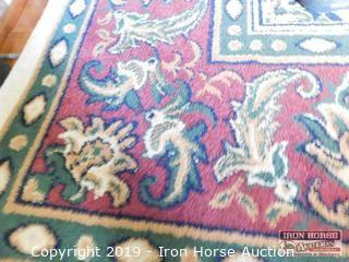 Legend Persia/Camel Area Rug 11' x 8'  -  includes rug underneath that is slightly smaller than 11' x 8'