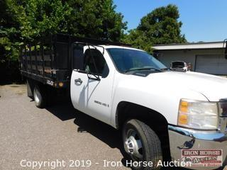 2008 Chevrolet 3500HD Stake Bed Regular Cab Truck