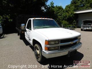 1997 Chevrolet Cheyenne 3500 Stake Bed Truck