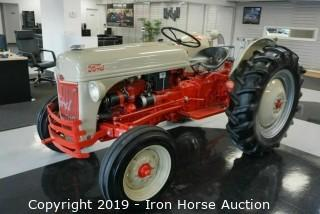 1952 Ford 8N-B Tractor (Fully Restored)