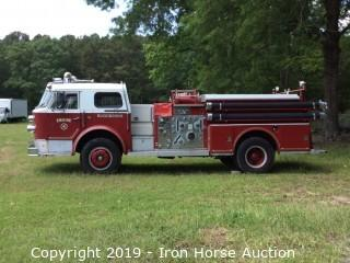 1973 American LaFrance 1000 Series Custom Triple Combination Pumper